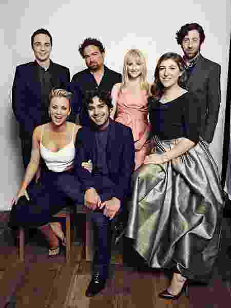 """""""The Big Bang Theory"""", uma das produções de maior sucesso da CBS, era composto por um elenco praticamente todo branco - Getty Images"""