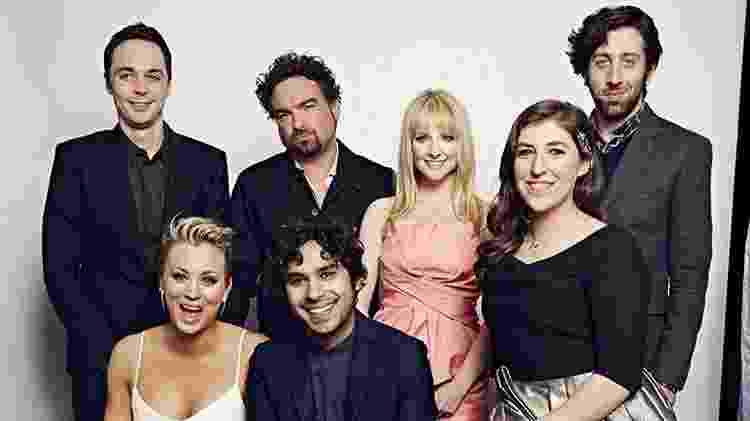 Elenco de The Big Bang Theory - Getty Images