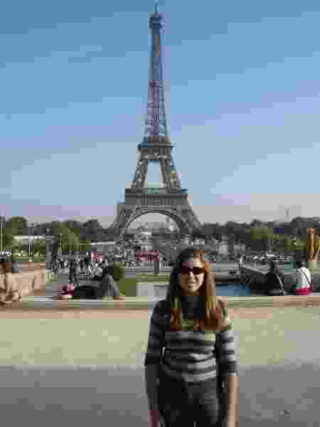Mellina Hernandes em Paris, na França - Arquivo pessoal