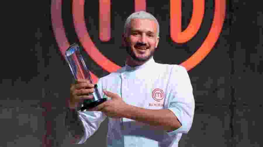 Rodrigo Massoni, campeão do MasterChef - Reprodução/Twitter