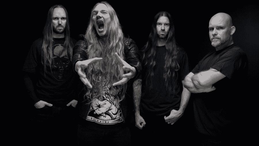 A banda Legion of the Damned - Divulgação