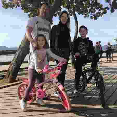 Deborah Russo e sua família - Acervo pessoal - Acervo pessoal