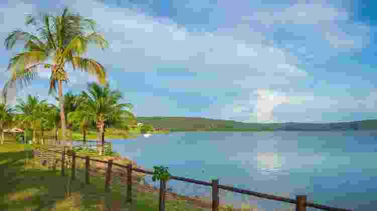 Lago Corumbá, em Caldas Novas  - Pablo Regino/Mtur - Pablo Regino/Mtur