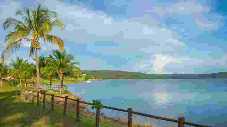 Lago Corumbá, em Caldas Novas  - Pablo Regino/Mtur