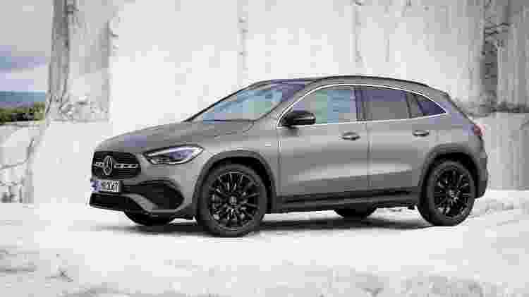 Novo Mercedes-Benz GLA - Divulgação - Divulgação