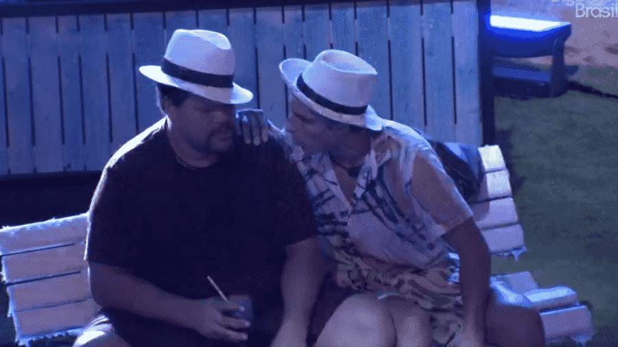 Prior e Babu conversam sobre Gabi e Guilherme - Reprodução/Globoplay