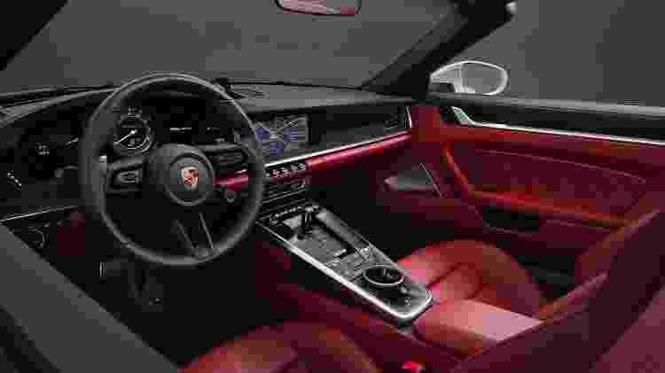 Novo Porsche 911 Turbo S 2 - Divulgação - Divulgação