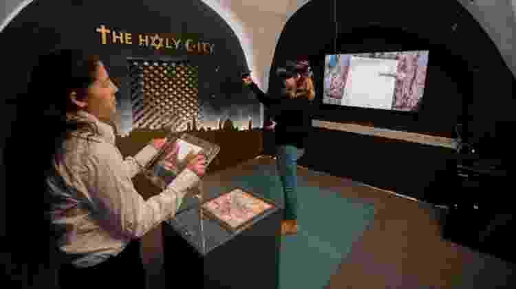 Imersão virtual no Museu da Torre de David - Divulgação