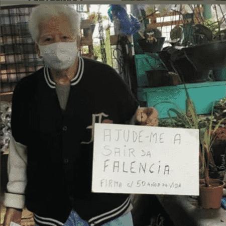 Nelson Simeão recorreu às redes sociais para tentar salvar sua loja de jardinagem no Brooklin, em SP - André Ribeiro - André Ribeiro