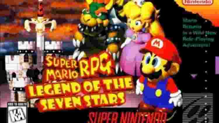 SM RPG N64 - Divulgação/Nintendo - Divulgação/Nintendo