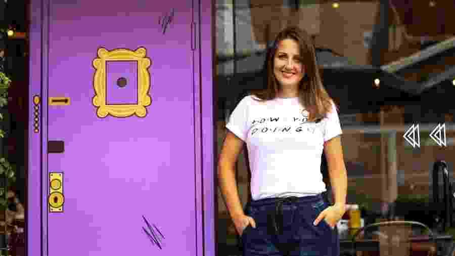 Camila Rover, que criou um novo produto na pandemia para seu Chelsea Burger & Shakes - Divulgação