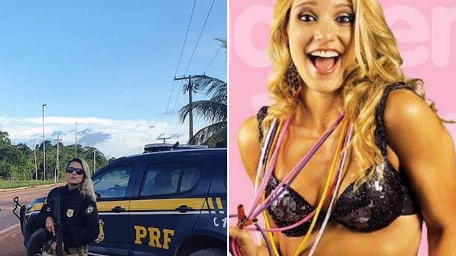 Silmara Miranda assumiu o cargo de policial rodoviária após passar em concurso público - Reprodução/Instagram