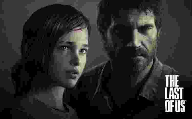 Joel e Ellie no game de 'The Last of Us' - Reprodução - Reprodução