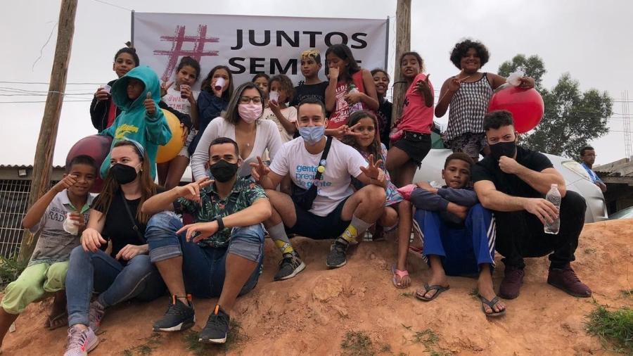 """O """"Juntos Sempre"""" pretende expandir o projeto para outras cidades do ABC paulista - Divulgação"""