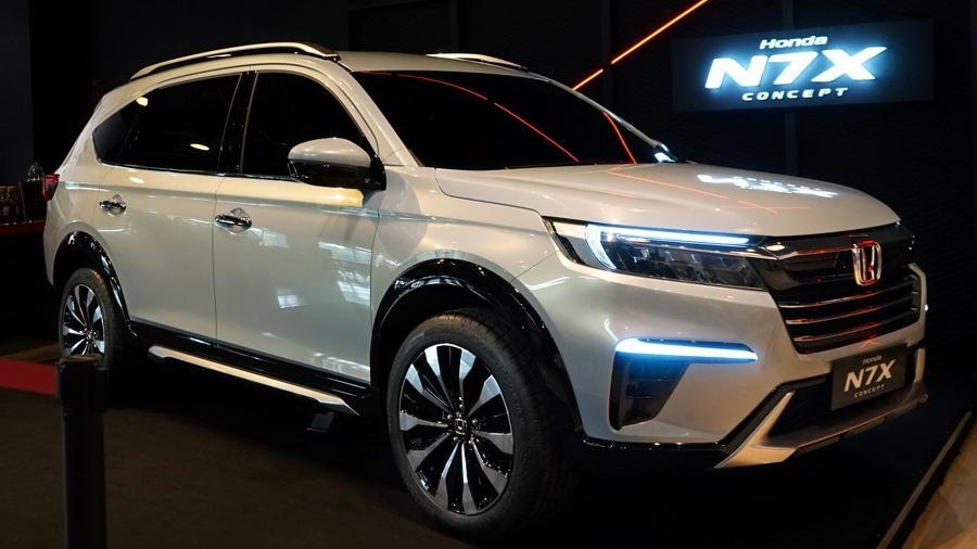 Honda N7X Concept - Divulgação