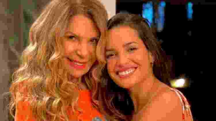Elba Ramalho e Juliette se encontraram para ensaio de live - Reprodução/Instagram - Reprodução/Instagram