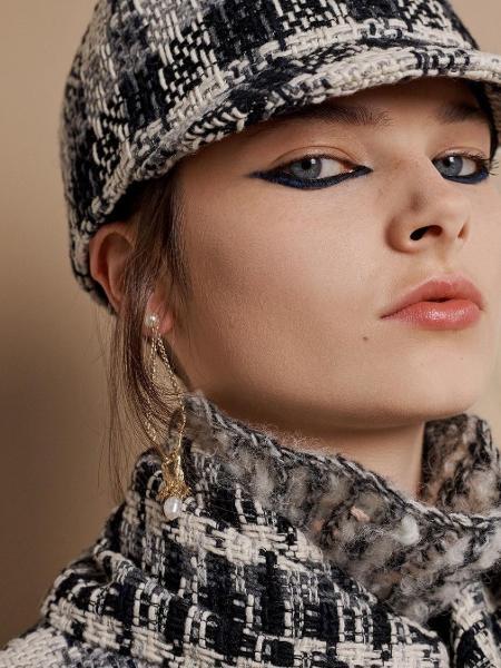 Delineado foi estrela de desfile da Dior - Divulgação/Instagram