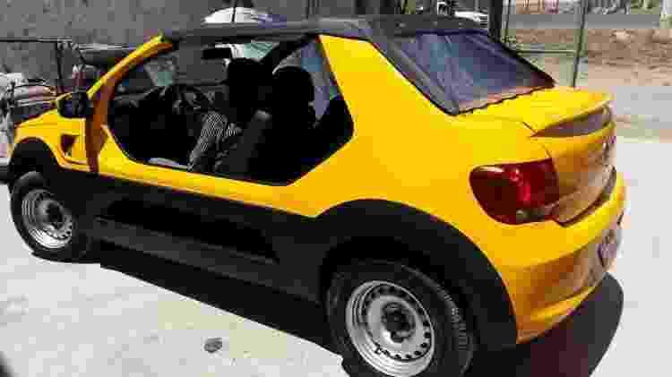 VW Gol Buggy - Reprodução - Reprodução