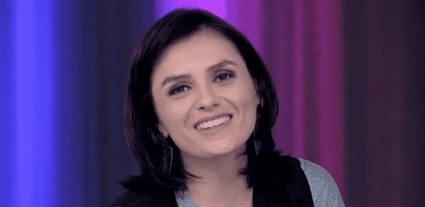 """Apresentadora do """"Vídeo Show"""", Monica Iozzi pede aos jovens que ouçam Cazuza - Reprodução/Globo.com"""