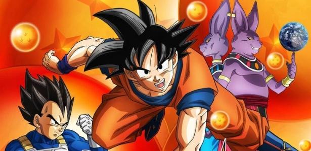 """Imagem de divulgação do animê """"Dragon Ball Super"""", que estreou no Japão em 5/7/2015"""