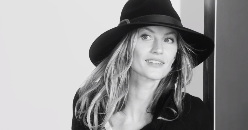 Gisele Bündchen estrela nova campanha publicitária