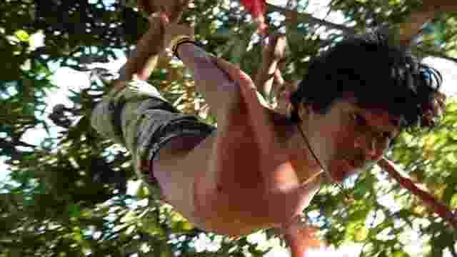 """Cena do documentário """"Jonas e o Circo sem Lona"""" (2015), de Paula Gomes, que conta a história de um garoto que montou um circo no quintal da casa da avó - Divulgação"""