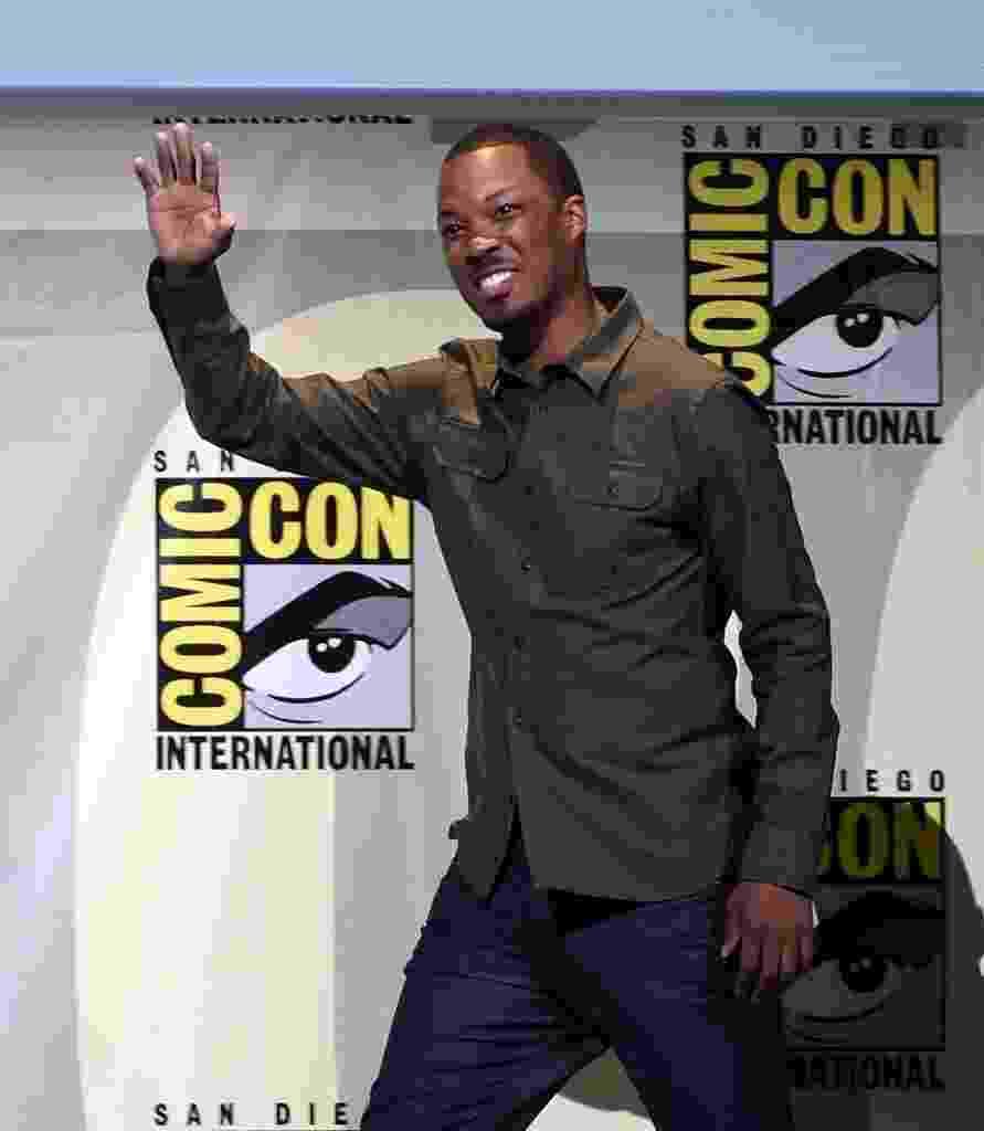 """24.jul.2016 - Corey Hawkins participa de painel de """"24: Legacy"""" na San Diego Comic-Con - Kevin Winter/Getty Images/AFP"""