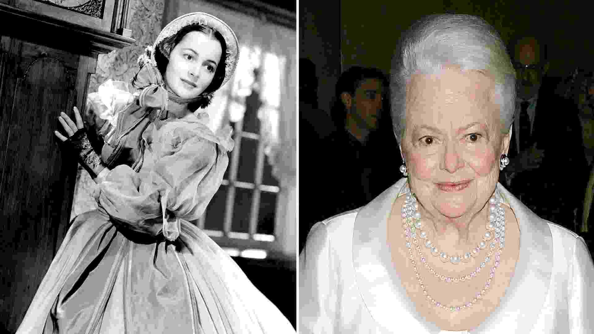 """Olivia de Havilland tinha 23 anos quando fez """"... E o Vento Levou"""" - Courtesy Everett Collection/Divulgação"""