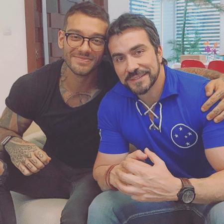 Lucas Lucco e Padre Fábio de Melo - Reprodução/Instagram/lucaslucco