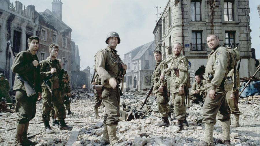 """""""O Resgate do Soldado Ryan"""" (1998) - Divulgação"""