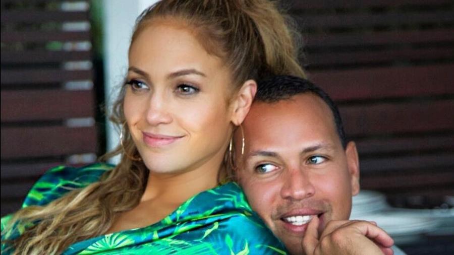 Jennifer Lopez e Alex Rodriguez - Reprodução/Instagram