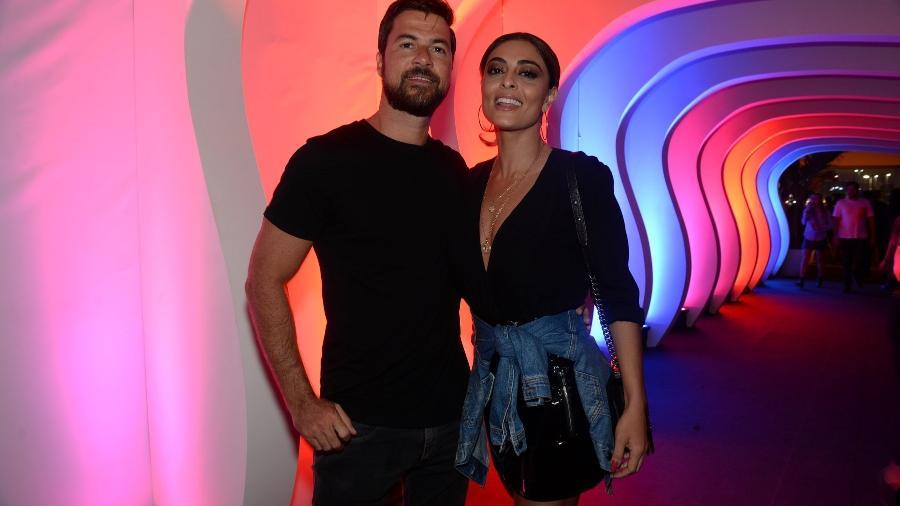 Juliana Paes e o marido Carlos Eduardo Baptista - Thyago Andrade/Brazil News