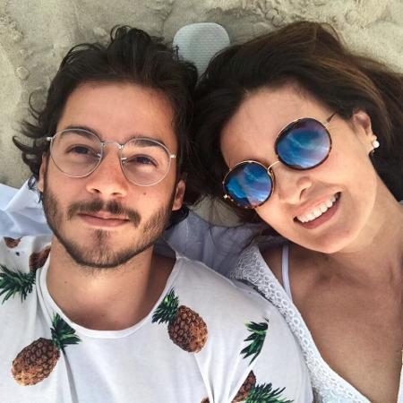 Túlio Gadêlha e Fátima Bernardes - Reprodução/Facebook