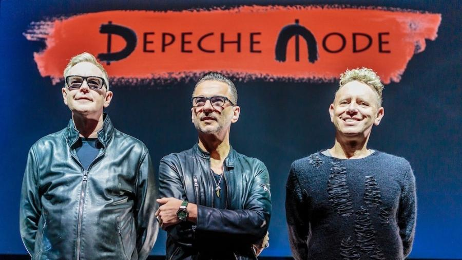 A banda Depeche Mode - Reprodução