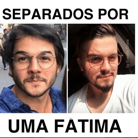 Túlio Gadêlha é comparado a Luan Santana em brincadeira de Evaristo Costa - Reprodução/Instagram/evaristocostaoficial
