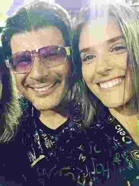 Paulo Ricardo e a namorada Isabella Pinho - Reprodução/Instagram