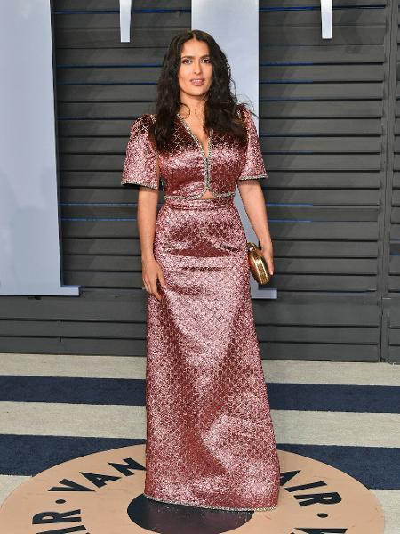 A atriz Salma Hayek - Getty Images