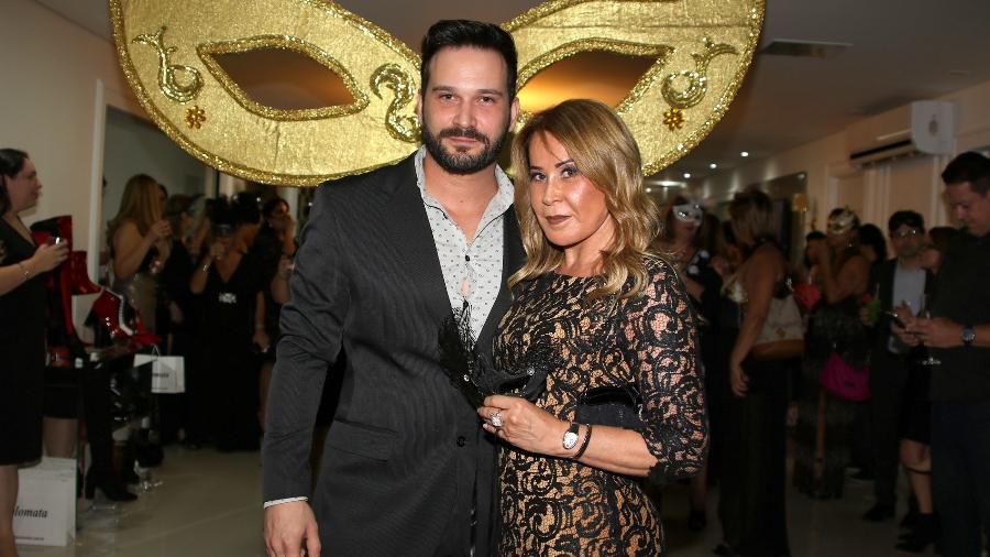 Zilu e o namorado, o empresário Marco Ruggiero - Thiago Duran/AgNews