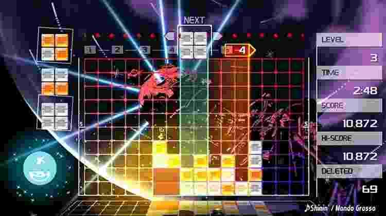 Lumines Remastered (PS4, XONE, Switch, PC) - Divulgação - Divulgação