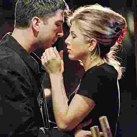 Ross e Rachel vivem romance na série - Divulgação