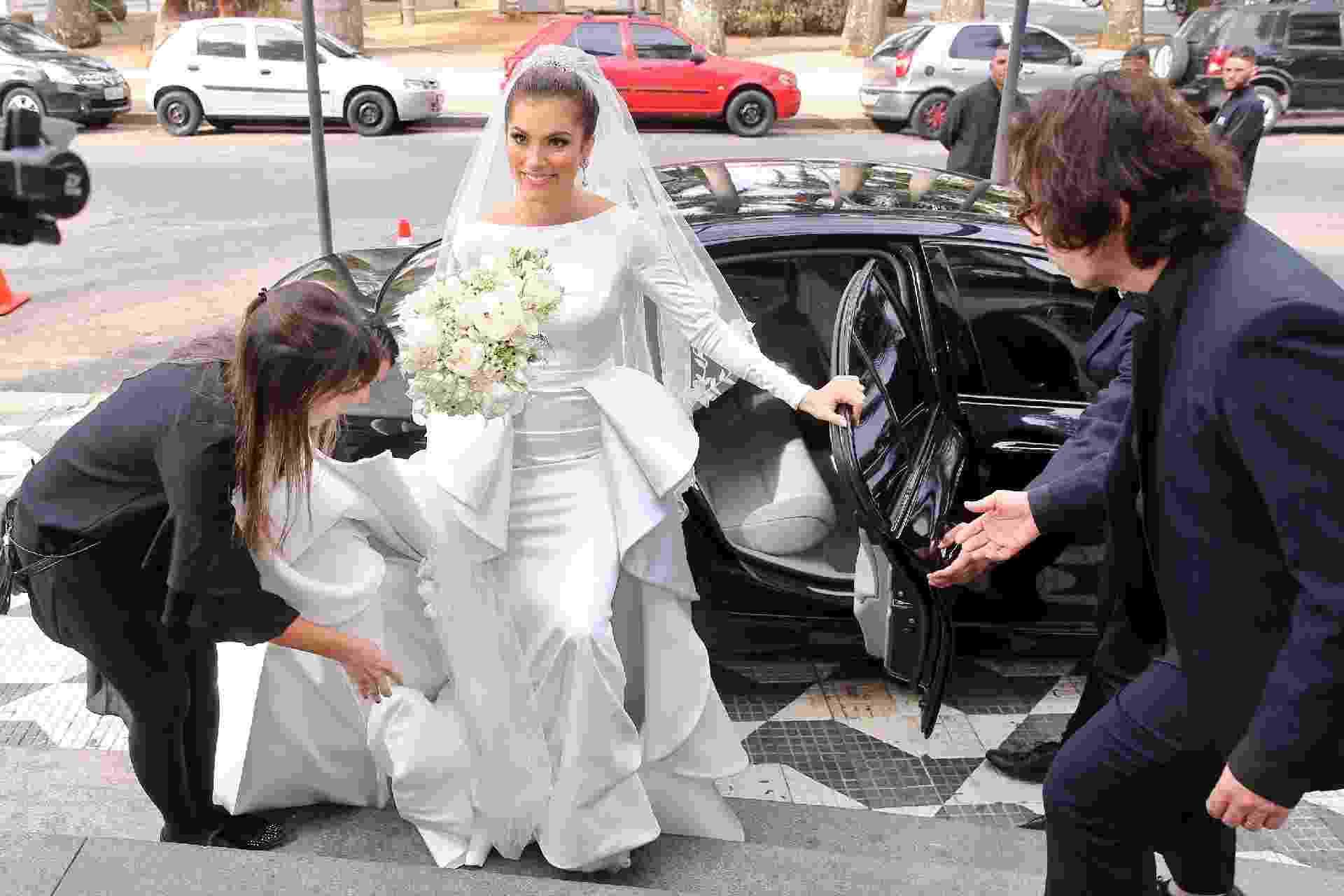Atriz Bruna Hamú se casa em São Paulo - Manuela Scarpa/Brazil News