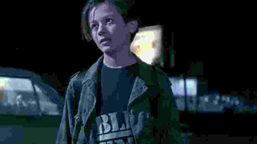 Edward Furlong em O Exterminador do Futuro 2: O Julgamento Final (1991) - Divulgação