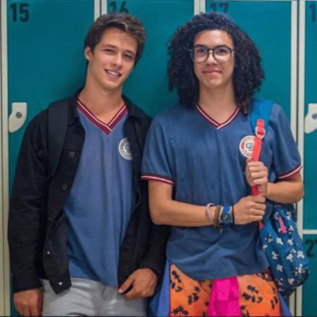 """Giovanni Dopico e Pedro Vinícius, Santigo e Michael de """"Malhação"""" - Reprodução/Instagram"""