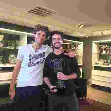 Guga e Andreoli - Marco Antonio Araújo/TV Globo - Marco Antonio Araújo/TV Globo