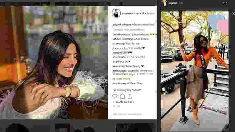 Priyanka Chopra - Reprodução/Instagram - Reprodução/Instagram