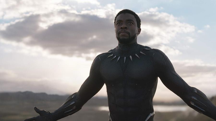 """Chadwick Boseman em cena de """"Pantera Negra"""" - Marvel Studios/Divulgação"""