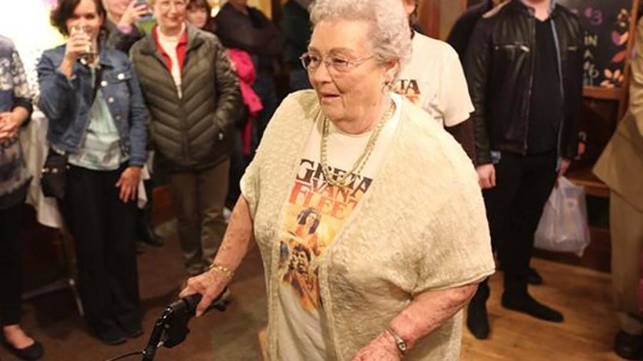 Gretna Van Fleet, 88, inspirou o nome da banda que se apresentará no Lollapalooza 2019 - Reprodução