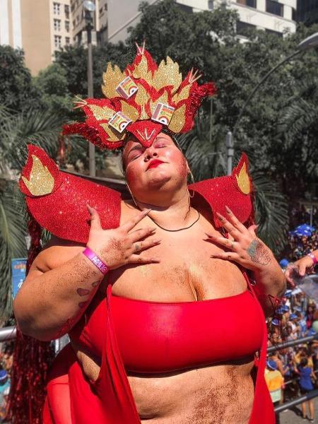 """Thais Carla: """"Já é carnaval, meu povo!"""" - Reprodução/Instagram"""