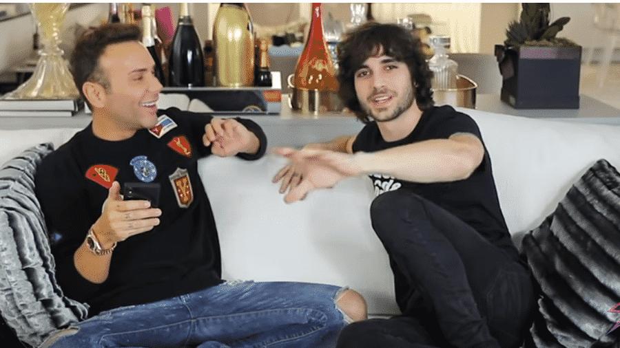 Matheus Mazzafera entrevista Fiuk - Reprodução/YouTube