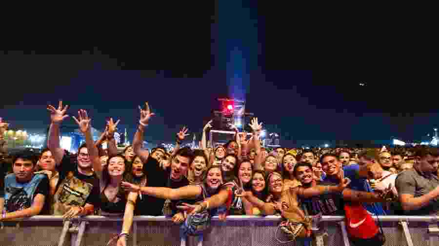 Púbico lota shows do Lollapalooza Brasil 2019 - Mariana Pekin/UOL